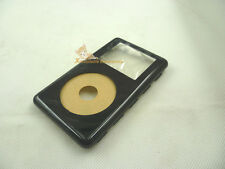 Black Front Faceplate Housing Case Cover for iPod Color Photo U2 20GB 30GB 40gb