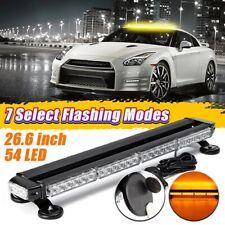 Car Emergency Flashing Strobe Lamp Work Light Bar 54 LED Warning Light Assembly