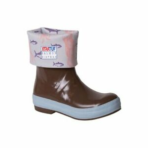 Xtratuf Women's Salmon Sisters 12 Inch Legacy Boots Chocolate/Jellyfish