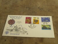 Mercury 1973 Jersey FDC / First Day Cover - Societe Jersiaise