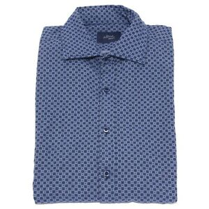 0962Z camicia uomo ALTEA INDACO blue shirt heavy cotton man