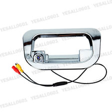 Chrome Rear View Reverse Camera Tailgate Cover for Toyota Hilux Vigo 2005-2014