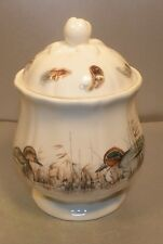 NEW Covered Sugar Bowl, Sologne Pattern  From GIEN
