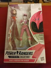 NEW 2019 6? Power Rangers Lightning Collection - Mighty Morphin Pink Ranger