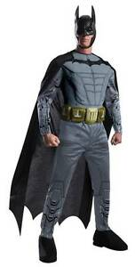 ADULT DC COMICS BATMAN ARKHAM ASYLUM DESIGN MUSCLE CHEST COSTUME RU884820