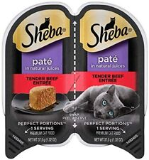 New listing Sheba Perfect Portions Pateacute Wet Cat Food Trays