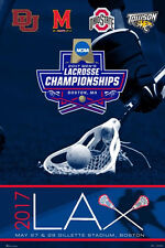 NCAA MEN'S LACROSSE CHAMPIONSHIPS 2017 Official POSTER - Ohio State, Maryland ++