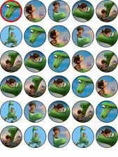 30 The Good Dinosaur Edible WAFER Cupcake Topper Party Decoration