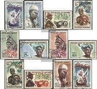 Dahomey 200-211 (kompl.Ausg.) gestempelt 1963 Menschen aus Dahomey
