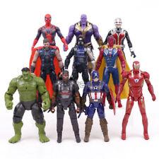 10 Marvel Avengers Endgame Thanos Hulk LED Action Figures PVC Doll Playset Toy