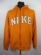 Vintage Nike Spell Out Zip Hoodie | Mens L | Sweatshirt Retro Hoody Nineties 90s