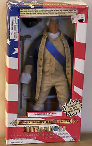"SOLDIERS OF THE WORLD * Revolutionary War Commander-In-Chief * 12"" Figure * NIB"