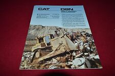 Caterpillar D8N Crawler Tractor Dozer Waste Disposal Dealers Brochure DCPA8 ver2