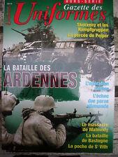 gazette des uniformes la bataille des ardennes N° 18