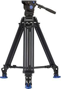 Brand New!!! Benro BV6 Pro Video Tripod - Max Load 13.2 lb / 6 kg