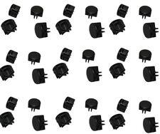 100 Pc Black Plastic Wire Grid Connectors Snap Mesh Organizer Mini Binning Wire