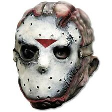 Jason 3/4 Mask Friday the 13th Adult Mens Horror Classic Halloween Costume Acsry