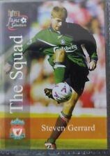 Futera Liverpool ROOKIE Steven Gerrard 2000 Card RARE Matt CHUPA CHUP version