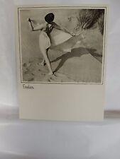 Boudoir Salon 1940s 50s  Decor Vintage print from photographers studio  Nude i