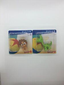 Disney Pixar Minis 2.5cm Mini Figures, The Good Dinosaur Spot & Arlo Brand New