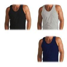 Unifarbene Herren-Unterhemden-Sets in