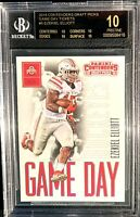 "2016 EZEKIEL ELLIOTT ROOKIE CARD!  BGS.10 ""BLACK LABEL"" PANINI CONTENDERS!  WOW!"