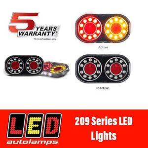 LED AUTOLAMPS BOAT TRAILER LIGHTS - 5 YEAR WARRANTY - 100% WATERPROFF 209GARLP2