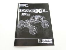 *NEW HPI SAVAGE X 4.6 RTR Manual HXR0