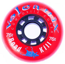 76mm x 85a Volcanix Road Kill Hard Hockey Wheel, set of 8, made in U.S.A.