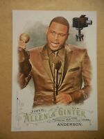 2016 Topps Allen & Ginter 5x7 2/49 #191 Anthony Anderson Actor