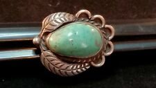 Vintage  sterling silver turquoise ring size 9