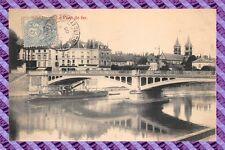 CPA 78 - MELUN el puente de hierro