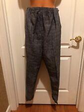 MOTHERHOOD Maternity Black Tweed Cuffed Pants Size 12 EUC
