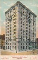 NEW YORK CITY – Hotel Cumberland (Broadway at 54th Street)