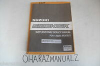 SUZUKI Sidekick 1300cc Dealership OEM Service Manual Supplement 99501-63A00-33E