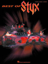 STYX PIANO VOCAL GUITAR SHEET MUSIC SONG BOOK NEW