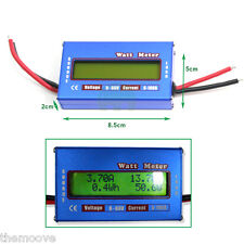 Voltage Power Energy Current Watt Meter Battery Solar 4x4 Camping 4WD Boat