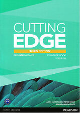 CUTTING EDGE Pre-Intermediate THIRD EDITION 2013 Students Book with DVD-ROM @NEW