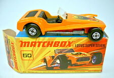 Matchbox SF Nr. 60B Lotus Super 7 orange top in Box