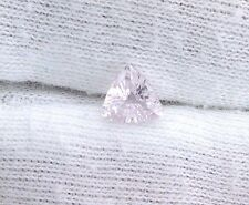 .96 Carat 6.5mm Trilliant Natural Thai Pink Sapphire Gem Stone Gemstone LPF28