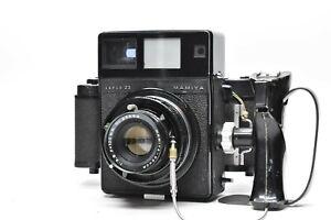 [Objektiv Fast Neu ] Mamiya Presse Super 23 Schwarz 100mm f3.5 Objektiv + Film