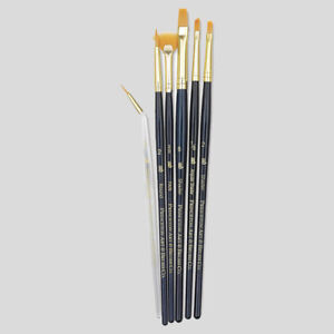 Princeton Art Brushes 6 Set Synthetic Hair Watercolour Acrylic Oil Painting 9133