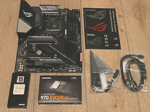 AMD Ryzen 7 3700X + ROG Strix X570 E-Gaming + Samsung 970 Evo Plus BUNDLE!