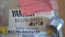 NOS Yamaha OEM 1982 YZ80 Cylinder Head Special Shape Nut 90179-08358-00