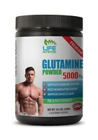 muscle recovery - Glutamine Powder 5000mg 60 Servings - bcaa supplement 1B