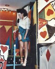 Org Amateur Semi Nude Large (8 x 10) Photo- Funhouse Fun- Skirt- Stockings- #3