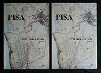 PISA STRUTTURA E PIANO. 2 volumi. AA.VV. Tacchi.