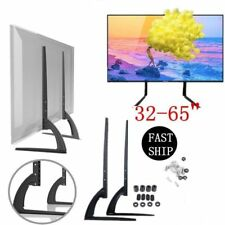 "Heavy Duty TV Stand Base Table Top Pedestal Mount 32-65"" Screen for Samsung LG"