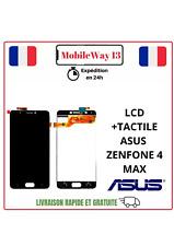 ECRAN COMPLET, LCD +VITRE TACTILE NOIR ASUS ZENFONE 4 MAX ZC520KL,X00HD