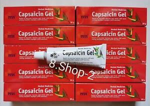 Capsaicin Hot Chilli Gel Cream 30g